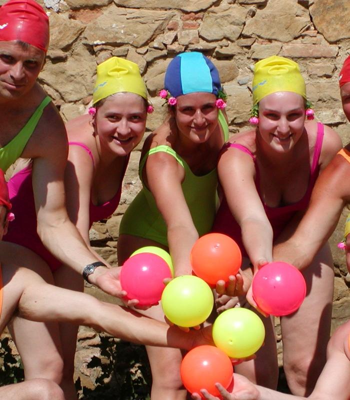 The best Synchronized Swim group of Monticchio!