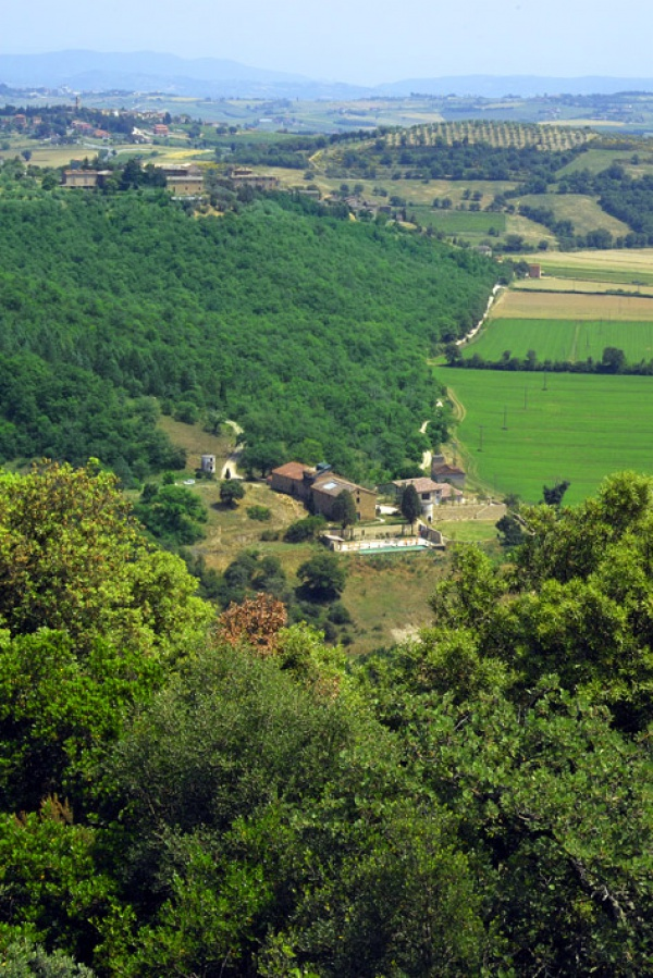 Panorama of Casale Monticchio